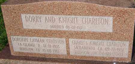 LAYMAN CHARLTON, DOROTHY - Franklin County, Ohio | DOROTHY LAYMAN CHARLTON - Ohio Gravestone Photos
