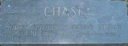 GIBNEY CHASE, WILMA - Franklin County, Ohio | WILMA GIBNEY CHASE - Ohio Gravestone Photos