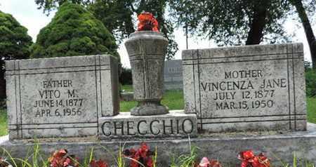 CHECCHIO, VITO M - Franklin County, Ohio   VITO M CHECCHIO - Ohio Gravestone Photos