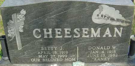 MCCLEERY CHEESEMAN, BETTY J - Franklin County, Ohio | BETTY J MCCLEERY CHEESEMAN - Ohio Gravestone Photos