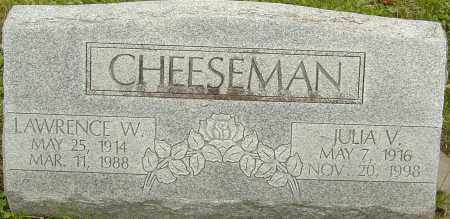 CHEESEMAN, JULIA - Franklin County, Ohio | JULIA CHEESEMAN - Ohio Gravestone Photos