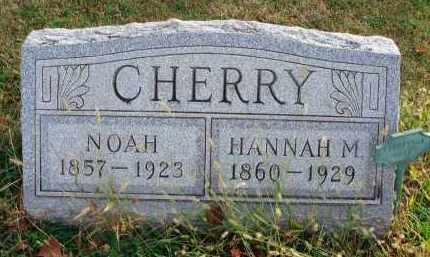 CHERRY, NOAH - Franklin County, Ohio | NOAH CHERRY - Ohio Gravestone Photos