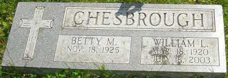 CHESBROUGH, WILLIAM L - Franklin County, Ohio   WILLIAM L CHESBROUGH - Ohio Gravestone Photos