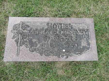 CHESNEY, MARY E. - Franklin County, Ohio | MARY E. CHESNEY - Ohio Gravestone Photos