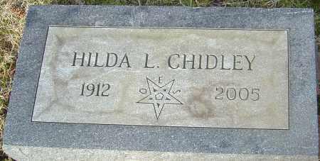 CHIDLEY, HILDA L - Franklin County, Ohio | HILDA L CHIDLEY - Ohio Gravestone Photos