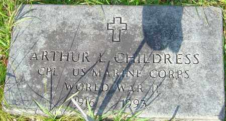 CHILDRESS, ARTHUR - Franklin County, Ohio | ARTHUR CHILDRESS - Ohio Gravestone Photos