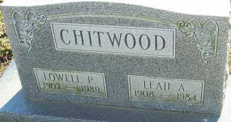 CHITWOOD, LEAH A - Franklin County, Ohio | LEAH A CHITWOOD - Ohio Gravestone Photos