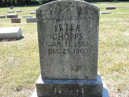 CHOPPS, PETER - Franklin County, Ohio | PETER CHOPPS - Ohio Gravestone Photos