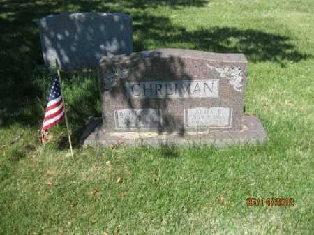 CHREIMAN, ALMA RUTH - Franklin County, Ohio   ALMA RUTH CHREIMAN - Ohio Gravestone Photos