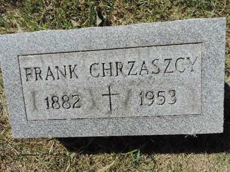CHRZASZCY, FRANK - Franklin County, Ohio | FRANK CHRZASZCY - Ohio Gravestone Photos