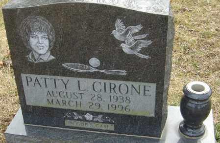 CUCKLER CIRONE, PATTY - Franklin County, Ohio | PATTY CUCKLER CIRONE - Ohio Gravestone Photos