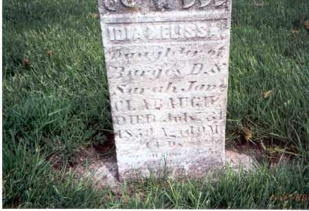 CLABAUGH, IDIA MELISSA - Franklin County, Ohio | IDIA MELISSA CLABAUGH - Ohio Gravestone Photos