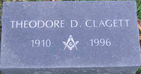 CLAGETT, THEODORE - Franklin County, Ohio | THEODORE CLAGETT - Ohio Gravestone Photos