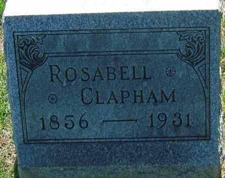CLAPHAM, ROSABELL - Franklin County, Ohio | ROSABELL CLAPHAM - Ohio Gravestone Photos