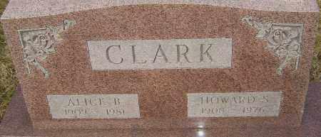 CLARK, ALICE - Franklin County, Ohio | ALICE CLARK - Ohio Gravestone Photos