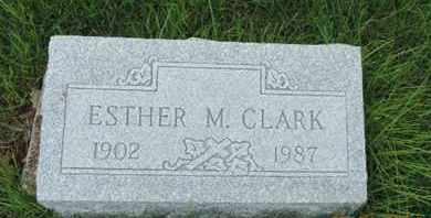 CLARK, ESTHER M. - Franklin County, Ohio | ESTHER M. CLARK - Ohio Gravestone Photos