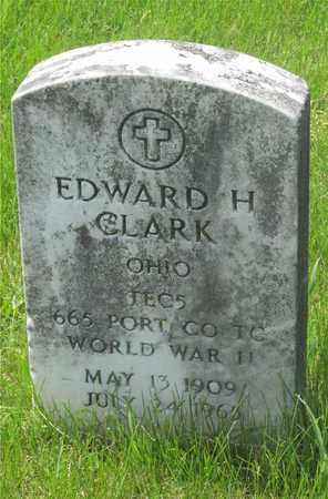 CLARK, EDWARD H. - Franklin County, Ohio | EDWARD H. CLARK - Ohio Gravestone Photos