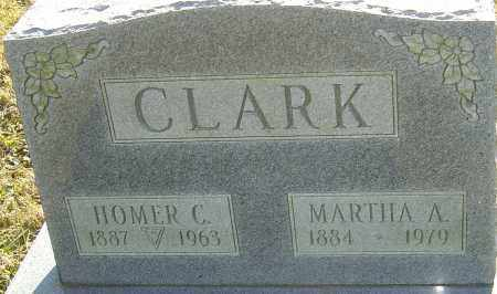 CLARK, MARTHA A - Franklin County, Ohio | MARTHA A CLARK - Ohio Gravestone Photos