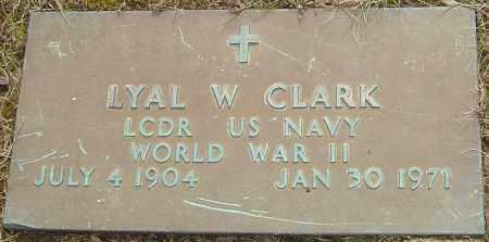 CLARK, LYAL W - Franklin County, Ohio   LYAL W CLARK - Ohio Gravestone Photos