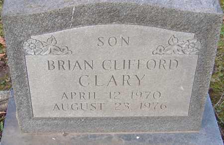 CLARY, BRIAN - Franklin County, Ohio | BRIAN CLARY - Ohio Gravestone Photos