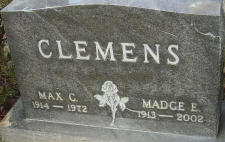 CLEMENS, MADGE E - Franklin County, Ohio | MADGE E CLEMENS - Ohio Gravestone Photos