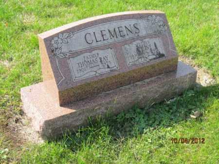 CLEMENS, THOMAS RAY - Franklin County, Ohio | THOMAS RAY CLEMENS - Ohio Gravestone Photos