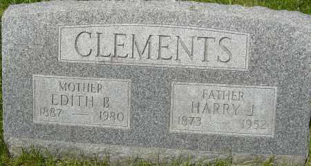 CLEMENTS, EDITH B - Franklin County, Ohio | EDITH B CLEMENTS - Ohio Gravestone Photos