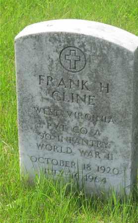 CLINE, FRANK H. - Franklin County, Ohio | FRANK H. CLINE - Ohio Gravestone Photos