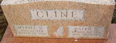 CLINE, MYRTLE H - Franklin County, Ohio | MYRTLE H CLINE - Ohio Gravestone Photos