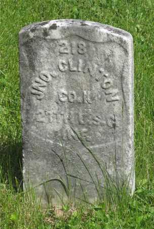 CLINTON, JNO. - Franklin County, Ohio | JNO. CLINTON - Ohio Gravestone Photos