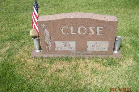 CLOSE, BESSIE E - Franklin County, Ohio | BESSIE E CLOSE - Ohio Gravestone Photos