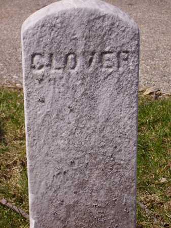 CLOVER, UNKNOWN - Franklin County, Ohio | UNKNOWN CLOVER - Ohio Gravestone Photos
