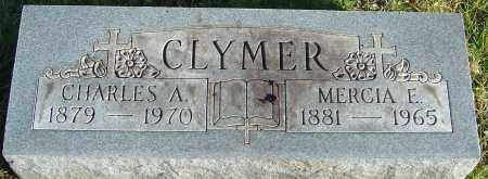 CLYMER, MERCIA E - Franklin County, Ohio | MERCIA E CLYMER - Ohio Gravestone Photos