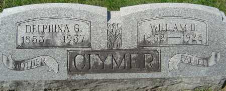 CLYMER, DELPHINA G - Franklin County, Ohio | DELPHINA G CLYMER - Ohio Gravestone Photos