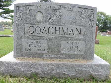COACHMAN, FRANK - Franklin County, Ohio   FRANK COACHMAN - Ohio Gravestone Photos