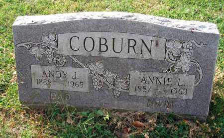 COBURN, ANDY J. - Franklin County, Ohio | ANDY J. COBURN - Ohio Gravestone Photos
