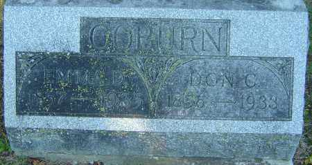COBURN, EMMA D - Franklin County, Ohio | EMMA D COBURN - Ohio Gravestone Photos