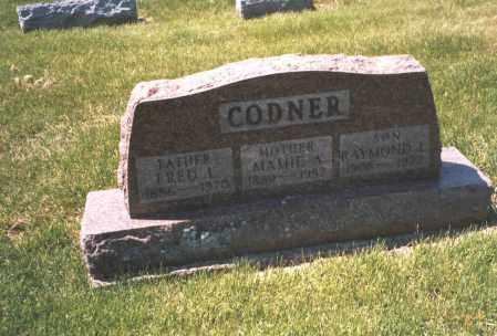 CODNER, MAMIE A. - Franklin County, Ohio   MAMIE A. CODNER - Ohio Gravestone Photos