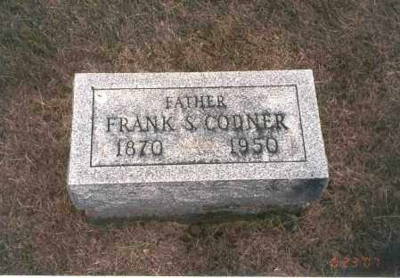CODNER, FRANK S. - Franklin County, Ohio | FRANK S. CODNER - Ohio Gravestone Photos