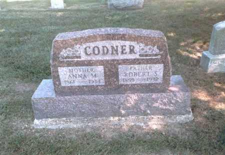 CODNER, ROBERT S. - Franklin County, Ohio | ROBERT S. CODNER - Ohio Gravestone Photos