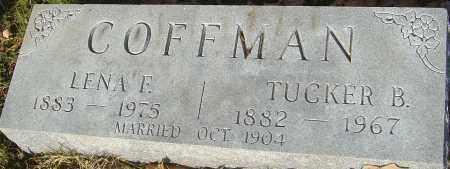 COFFMAN, TUCKER B - Franklin County, Ohio | TUCKER B COFFMAN - Ohio Gravestone Photos