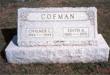 COFMAN, CHALMER C. - Franklin County, Ohio   CHALMER C. COFMAN - Ohio Gravestone Photos