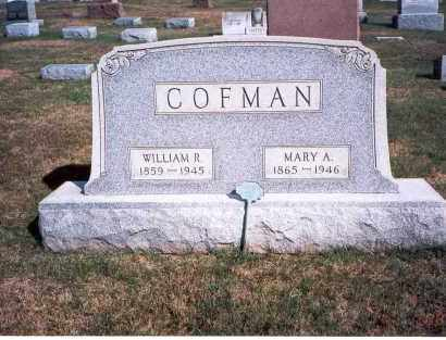 COFMAN, MARY A. - Franklin County, Ohio | MARY A. COFMAN - Ohio Gravestone Photos