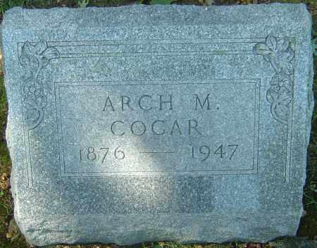 COGAR, ARCH MCCLELLAN - Franklin County, Ohio | ARCH MCCLELLAN COGAR - Ohio Gravestone Photos