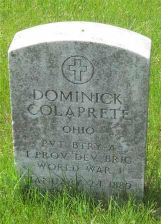COLAPRETE, DOMINICK - Franklin County, Ohio | DOMINICK COLAPRETE - Ohio Gravestone Photos