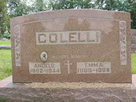 COLELLI, EMMA - Franklin County, Ohio | EMMA COLELLI - Ohio Gravestone Photos