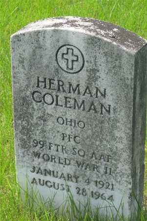 COLEMAN, HERMAN - Franklin County, Ohio   HERMAN COLEMAN - Ohio Gravestone Photos