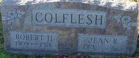 COLFLESH, ROBERT H - Franklin County, Ohio   ROBERT H COLFLESH - Ohio Gravestone Photos