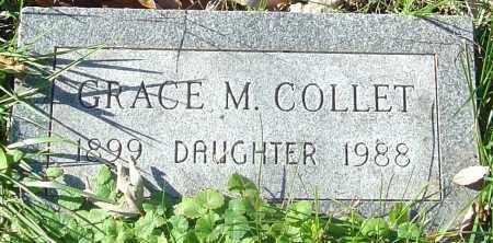 COLLET, GRACE M - Franklin County, Ohio   GRACE M COLLET - Ohio Gravestone Photos