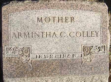 JOHNSTON COLLEY, ARMINTHA CAROLINE - Franklin County, Ohio   ARMINTHA CAROLINE JOHNSTON COLLEY - Ohio Gravestone Photos